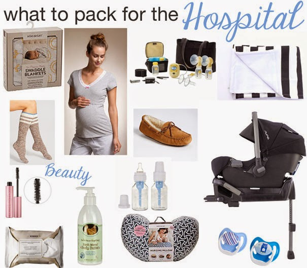 What To Pack For The Hospital Lipstick Heels And A Baby
