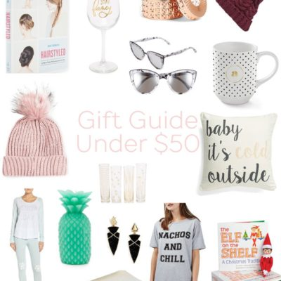 Gift Guide: Best Gifts Under $50