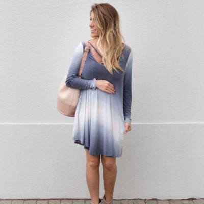 Crisscross Shift Dress + Discount Code