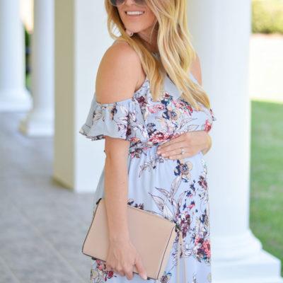 Floral Cold Shoulder Dress + Luxomo Promo Code
