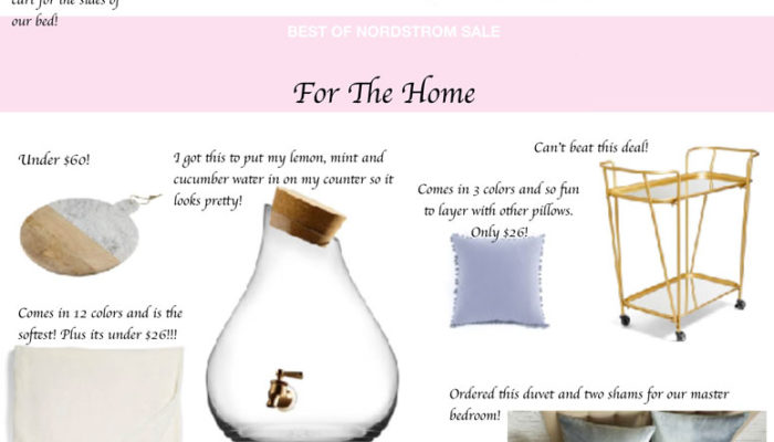 Best of Nordstrom Sale: For The Home
