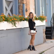 Neutral City Chic Fall Outfit. NYFW
