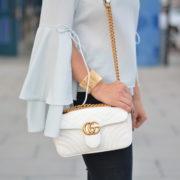 White Gucci Marmont