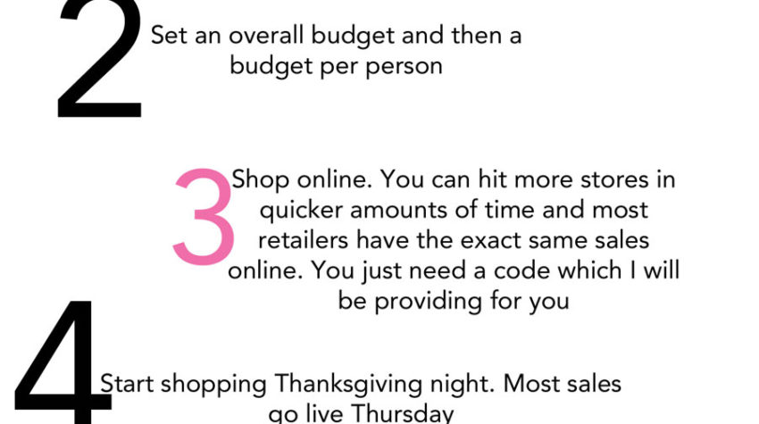 5 Tips to Conquering Black Friday