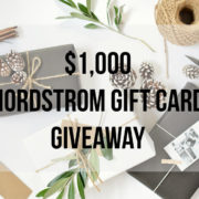 Nordstrom Sale Picks and Giveaway